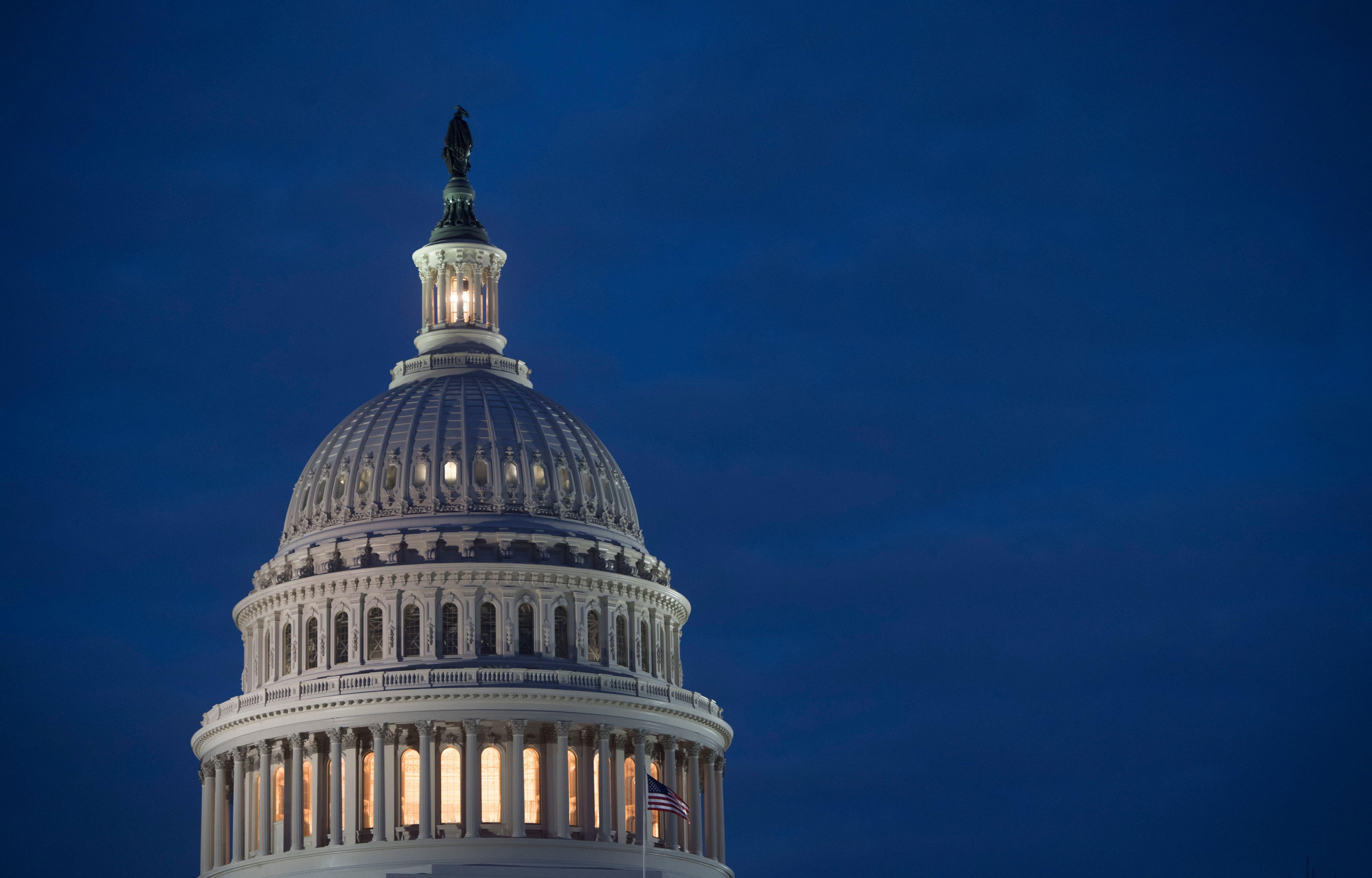 U.S. Capitol dome