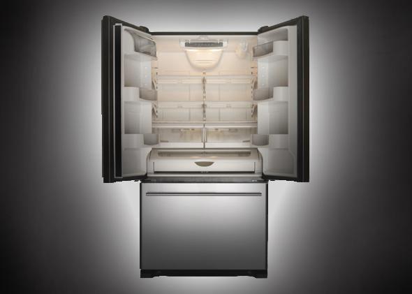 Poltergeist fridge.