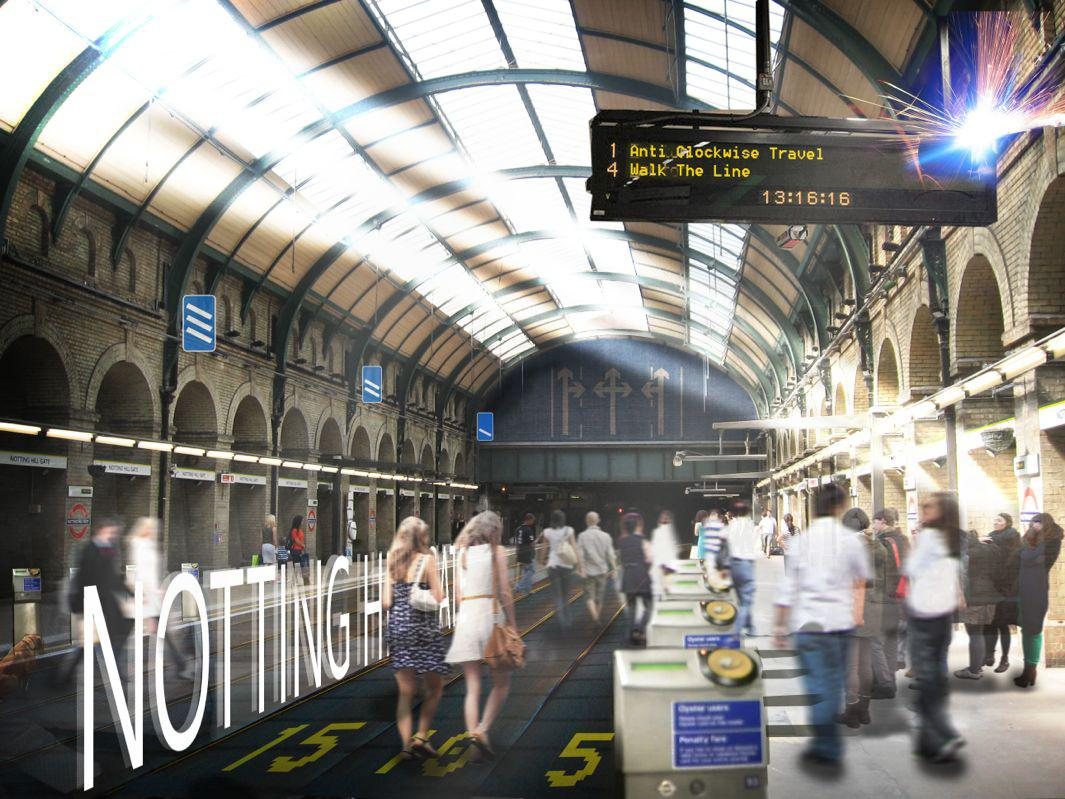 Nbbj Proposes Turning London U2019s Circle Line Into A 17