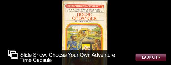 Click here to view a slideshow on Choose Your Own Adventure books.