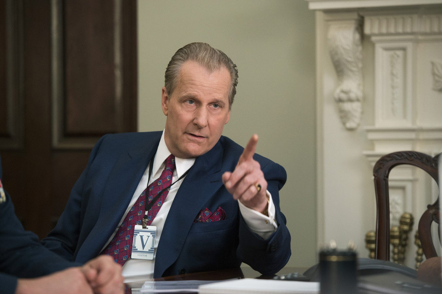 Jeff Daniels as FBI agent John O'Neill in a still image from The Looming Tower.