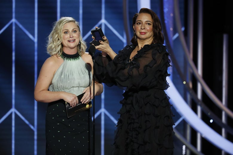 Newly Engaged Couple Amy Poehler and Maya Rudolph Showed They'd Make the Perfect Oscars Hosts