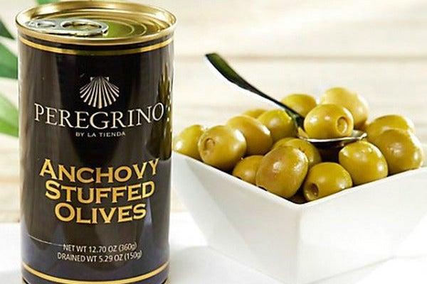 La Tienda Peregrino Brand Anchovy Stuffed Olives