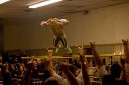 """Mickey Rourke in """"The Wrestler"""""""