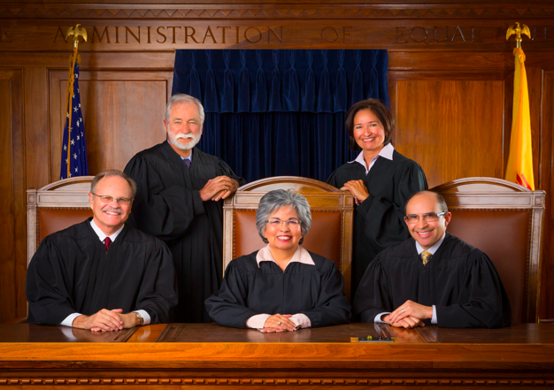 Justices of the New Mexico Supreme Court.