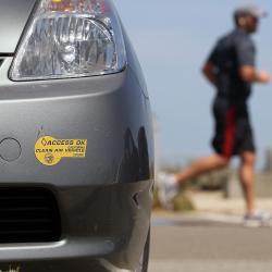 Hybric Toyota Prius.