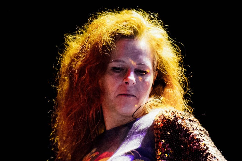 Neko Case performs at Fox Theater on April 13, 2017 in Oakland, California.