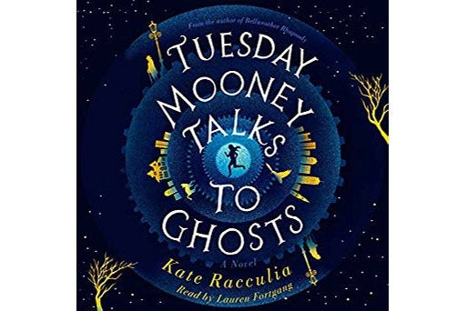 Audiobook cover of Tuesday Mooney Talks to Ghosts.