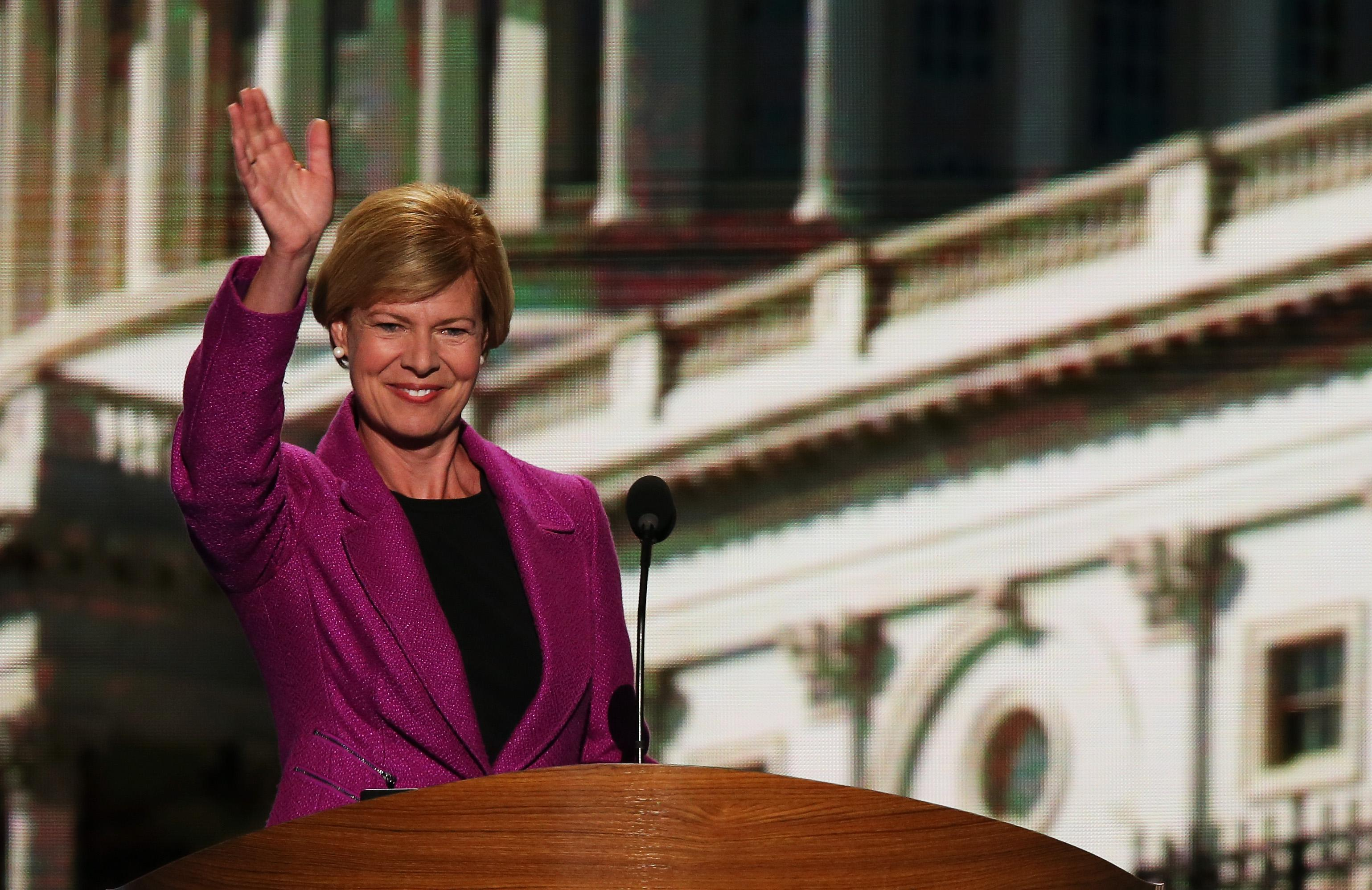 Tammy Baldwin was elected senator in Wisconsin.
