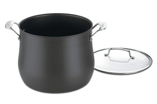 Cuisinart 6466-26 Contour Hard Anodized 12-Quart Stockpot.
