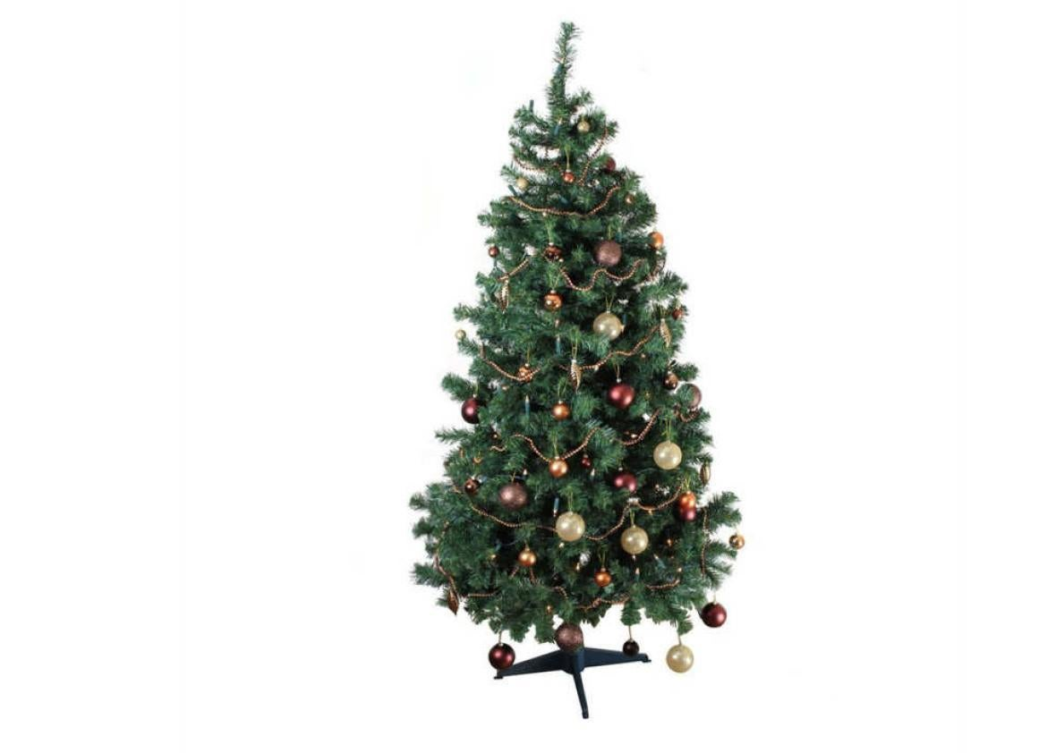 """""""Great first Christmas tree! Didn't break the bank, was delivered quickly, and it fits perfectly in my small apartment. It's sturdy and I don't think anyone ..."""