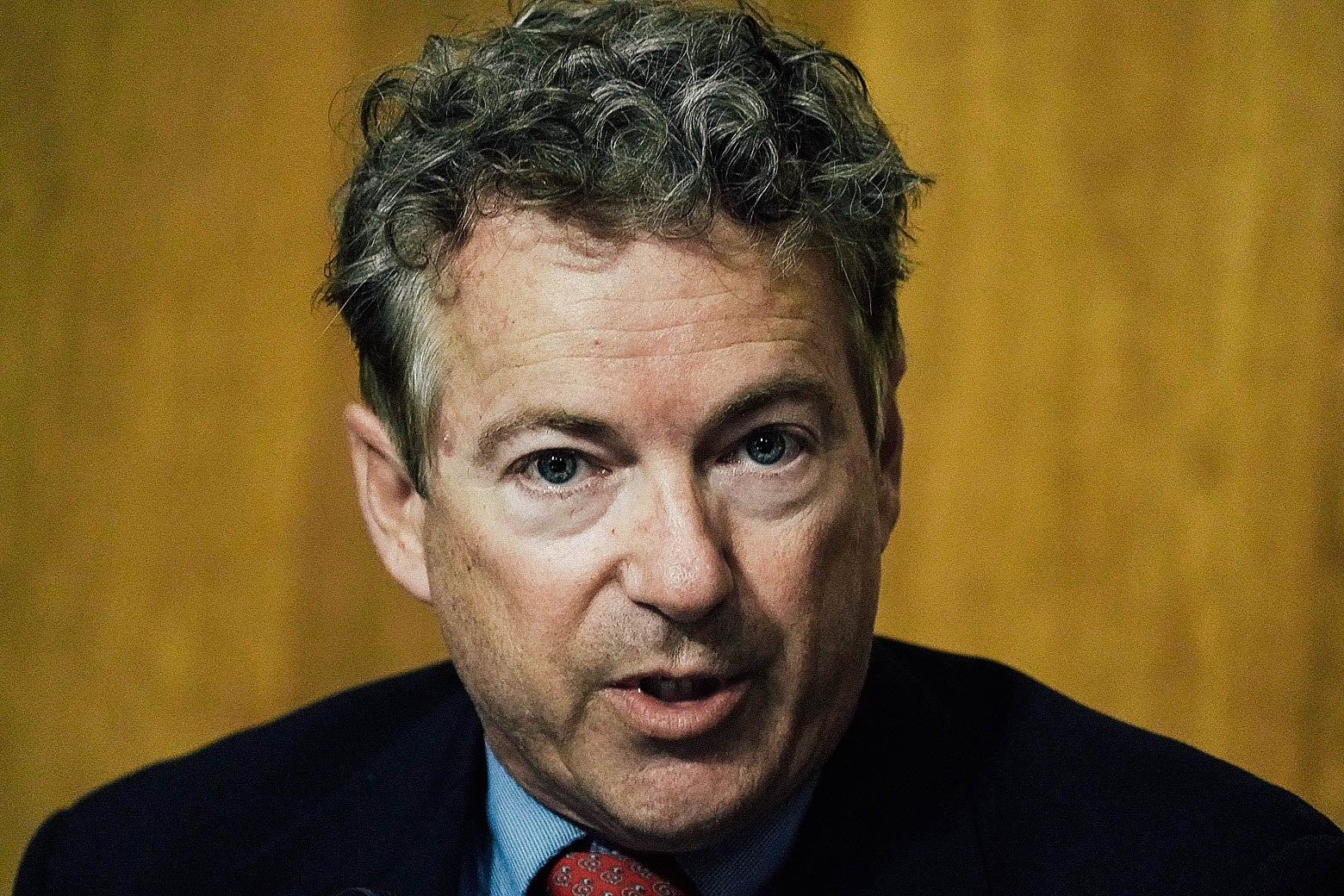 Rand Paul speaks during a Senate Foreign Relations Committee meeting on Apr. 23, 2018 in Washington, DC.