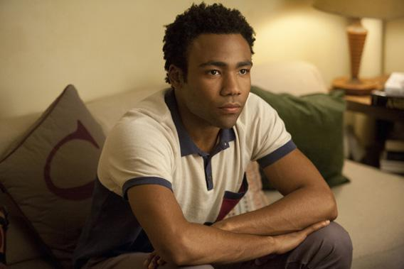 Donald Glover in Girls.