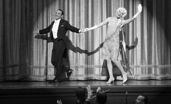 Still of Jean Dujardin and Missi Pyle in 'The Artist.'