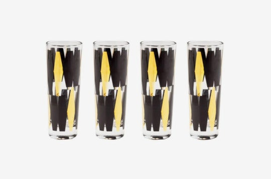 Rosanna Monte Carlo Set of 4 Shot Glasses.