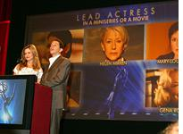 Kyra Sedgwick and Jon Cryer announce the 2007 Emmy nominations