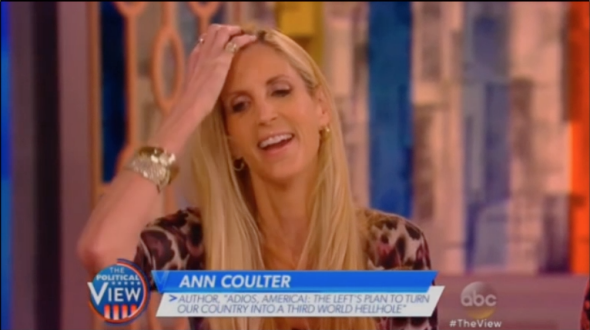 The ladies of The View should have let Ann Coulter spew her hateful