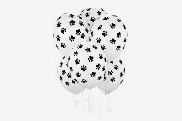 BirthdayExpress Paw Print Balloons