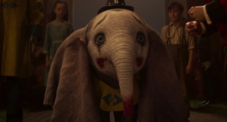 Tim Burton's Dumbo trailer is a CGI disaster.