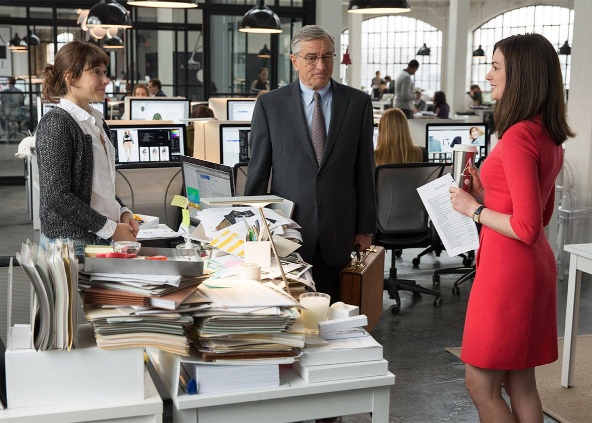 The Intern With Robert De Niro And Anne Hathaway Directed By Nancy Meyers Reviewed
