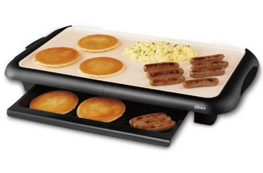Oster DuraCeramic griddle.