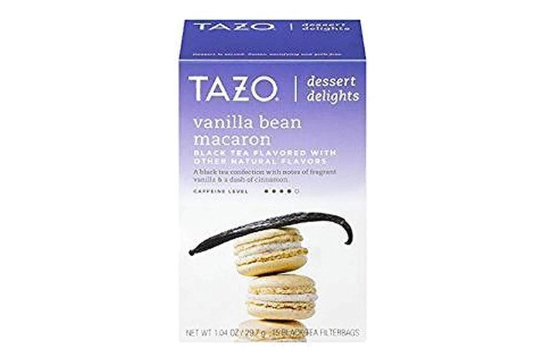 Tazo vanilla bean macaron black tea