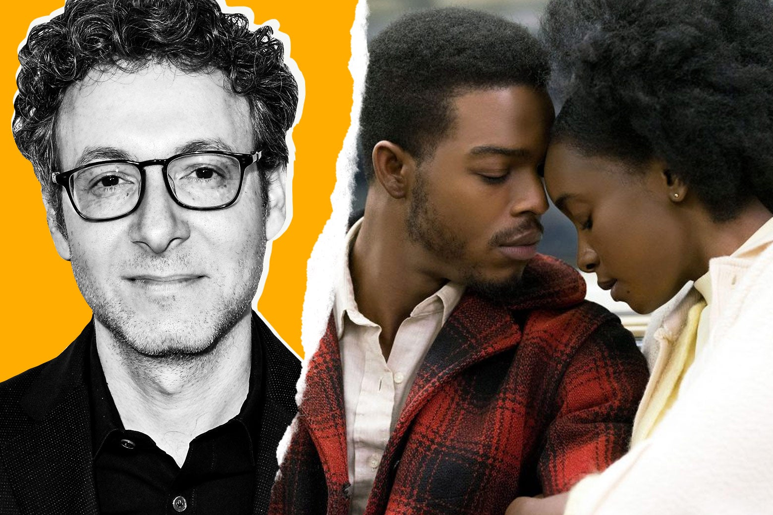 Nicholas Britell and a still from If Beale Street Could Talk.