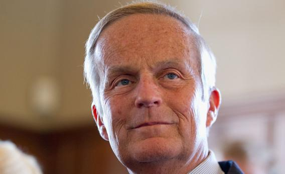 Rep. Todd Akin (R-MO) addresses the media on September 2012 in Kirkwood, Missouri.