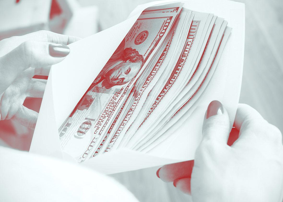 Dear Prudence: I found cash that belongs to my cheating ex