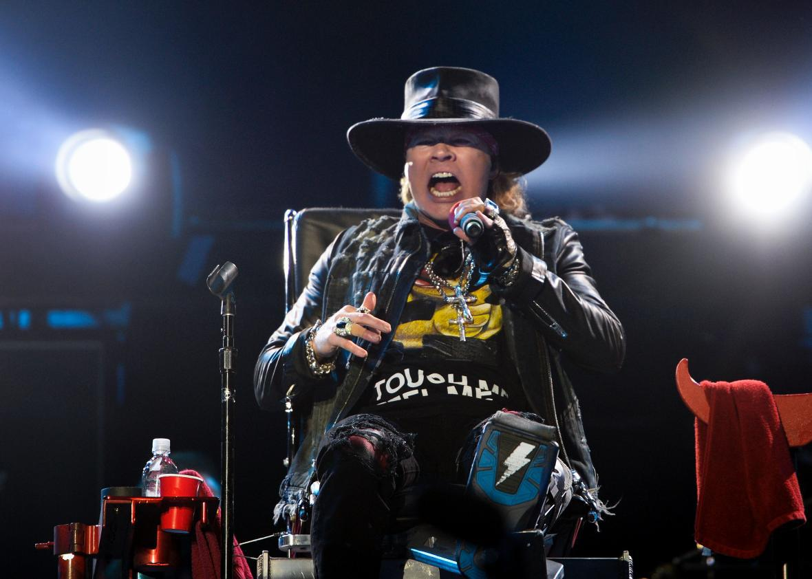 Axl Rose's attempts to take down
