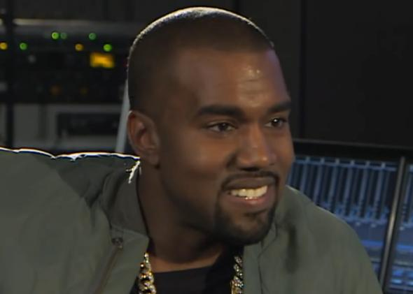 Kanye West in his interview with the BBC