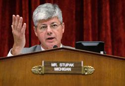 Subcommittee Chairman Bart Stupak (D-MI).