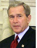 When Bush sounds like Wesley Clark
