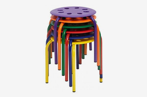 Kids Berry Patch Plastic Stack Stools