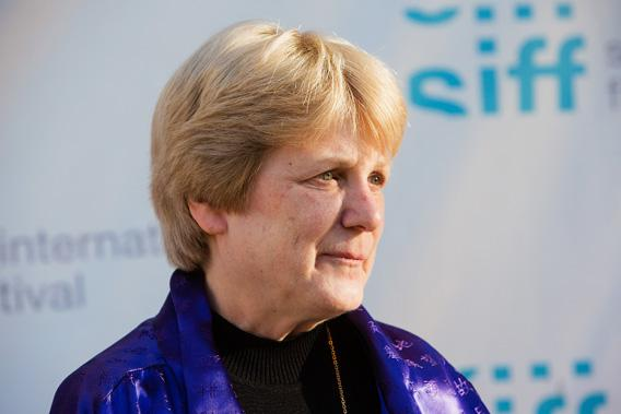 """Dr. Mary-Claire King arrives at the Seattle International Film Festival Premiere of """"Decoding Annie Parker""""."""