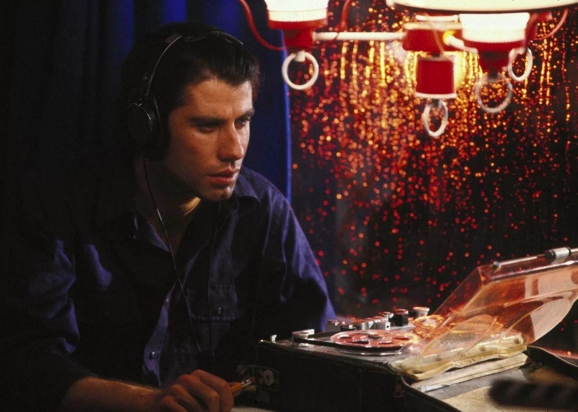 John Travolta in 'Blow Out'.