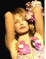 Arielle Dombasle. Click image to expand.