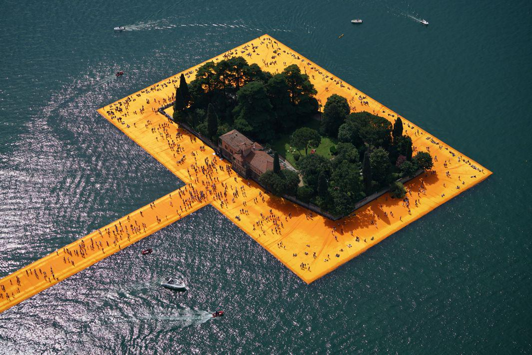 The Floating Piers - The Floating Piers, Lake Iseo, Italy, 2014-16(2)