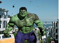 The Hulk: no special effect