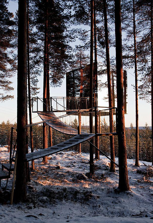 Treehotel A Grown Up Childhood Escape Fantasy In The