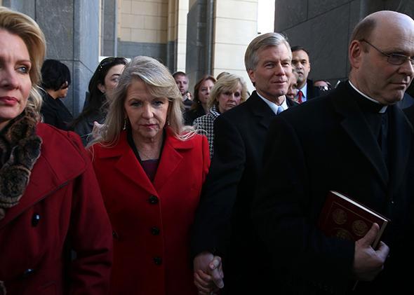 Bob and Maureen McDonnells.