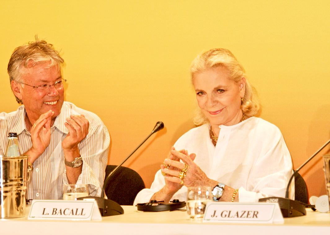 Lauren Bacall, 2004