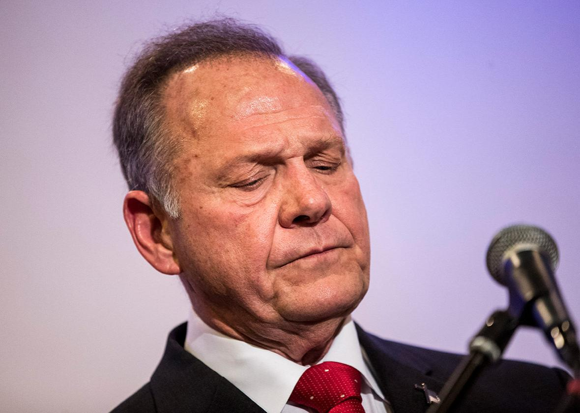 Roy Moore's story is unraveling.