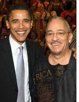 Barack Obama and Jeremiah Wright. Click image to expand.
