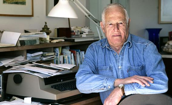 Author James Salter.