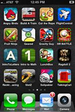 All iPhone apps.