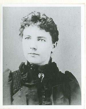 Laura Ingalls Wilder age twenty-seven.