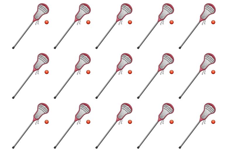 Lacrosse emojis.