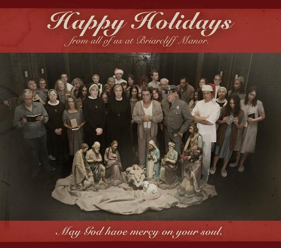 The American Horror Story holiday card.