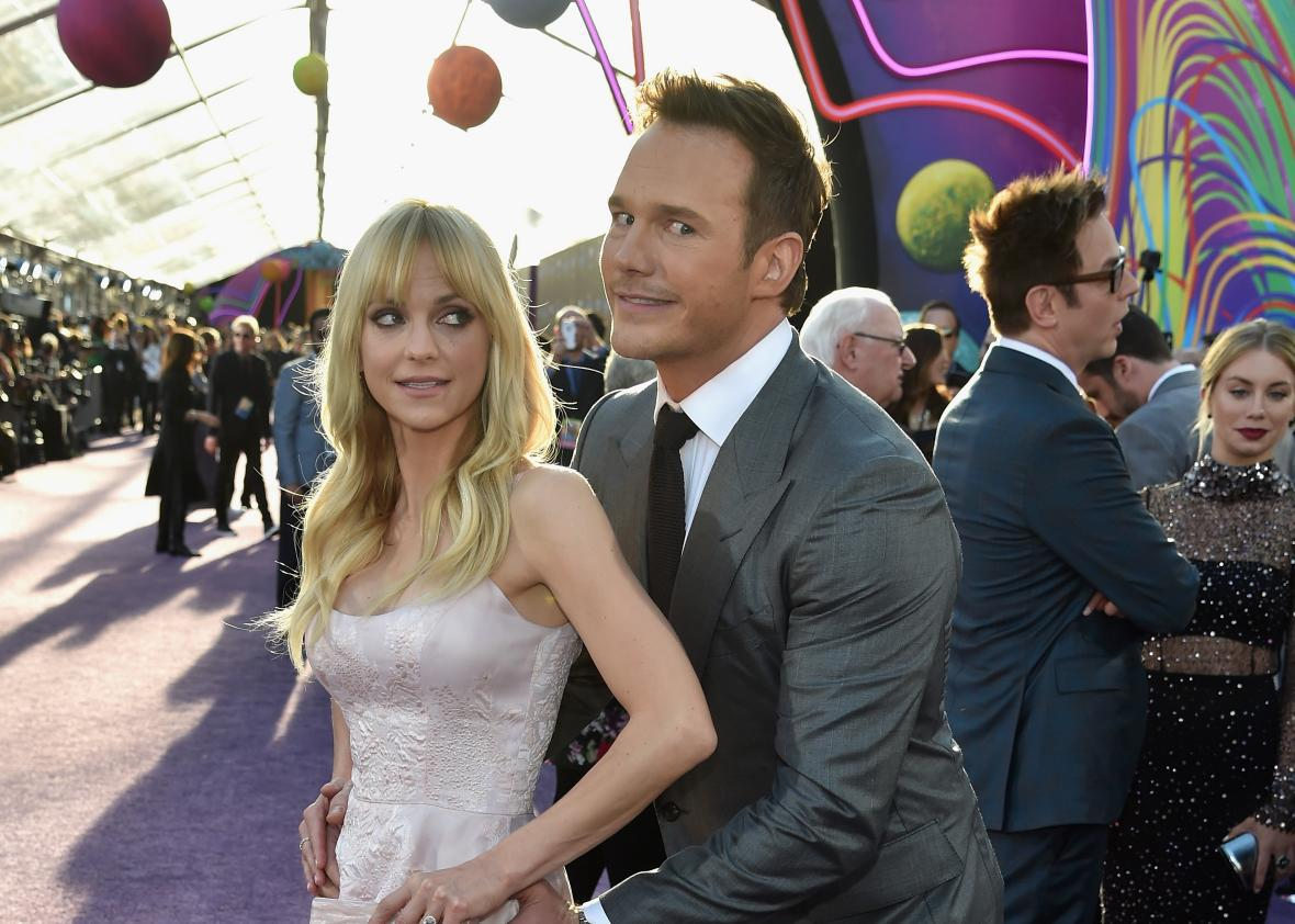 Chris Pratt's foreword to Anna Faris' book, Unqualified, is